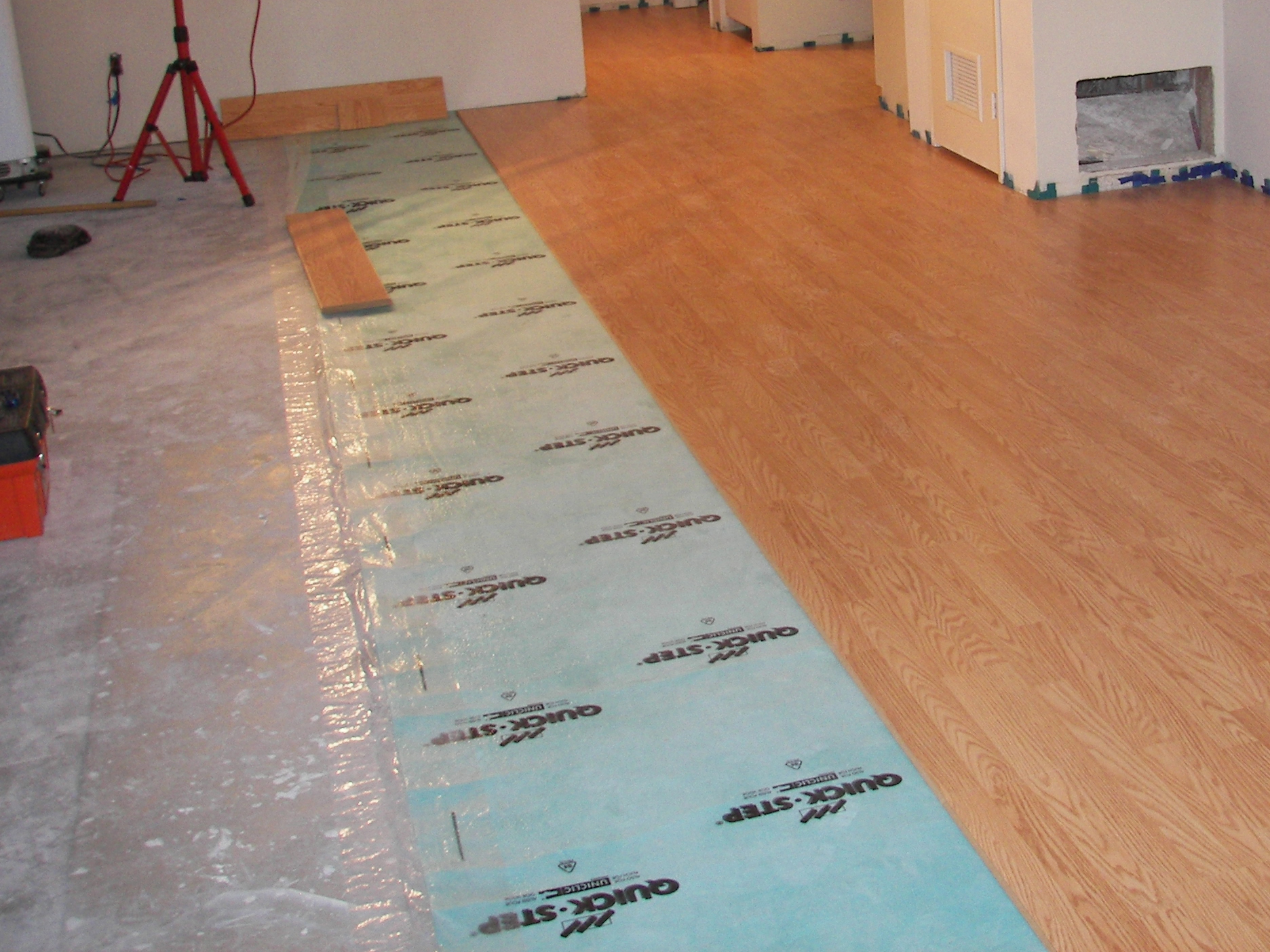 Concrete Sub Floors Installing A Hardwood Floor Over